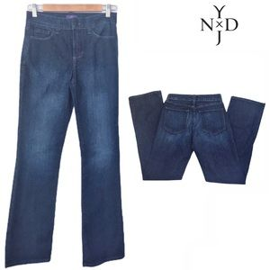 NYDJ bootcut jeans with Lift Tuck® Technology Sz 2